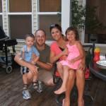 Ben, Blake, Blake's cousin Chelsea, her daughter Madison