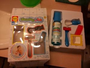 Kid's shave kit